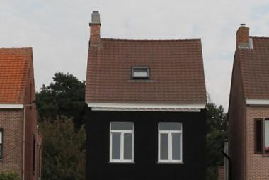 Zwarte woning