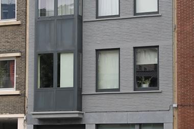 Spuitkurk gevelrenovatie Antwerpen